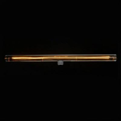 S14d LED tube smoky grey light bulb - 500 mm length 12W 2200K dimmable - for S14 System
