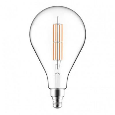 LED Clear Light Bulb XXL PS160 Double Long Filament 11W E27 Dimmable 2700K