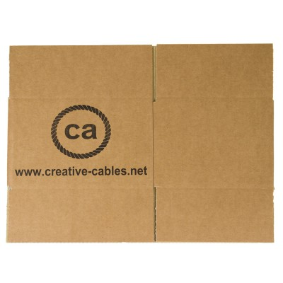 Cardboard boxes with trademark Creative-Cables 250x200x160. 100 pieces