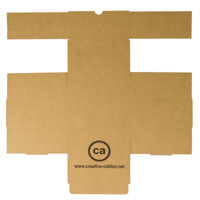 Cardboard boxes with trademark Creative-Cables 200x200x95. 100 pieces