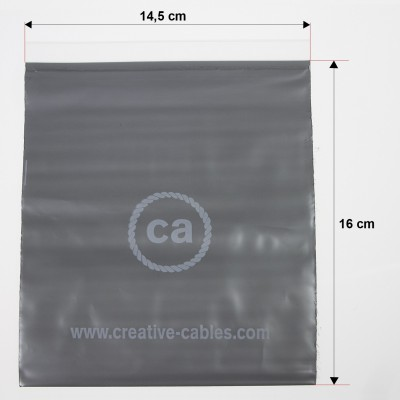 Small bags printed with closure and trademark Creative-Cables 14,5x16. 100 pieces