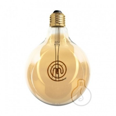 LED Light Bulb Globe G125 Masterchef line Logo Filament 4W E27 Dimmable 2000K