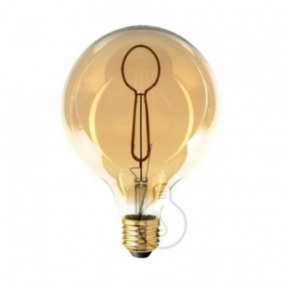 LED Light Bulb Globe G125 Masterchef line Spoon Filament 4W E27 Dimmable 2000K