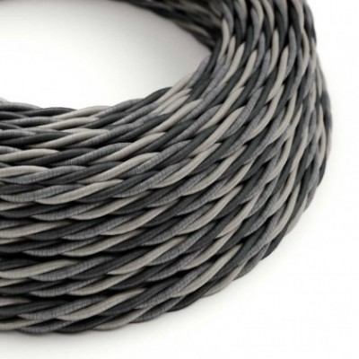 Electric Cable covered with twisted Rayon - Orleans TG07