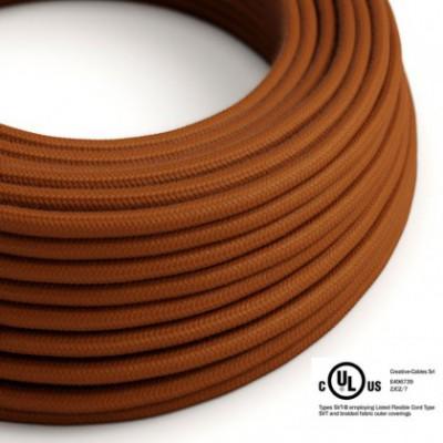 Cavo elettrico rotondo in bobina da 45,72 m (150 ft) RC23 Cotone Daino - Omologato UL
