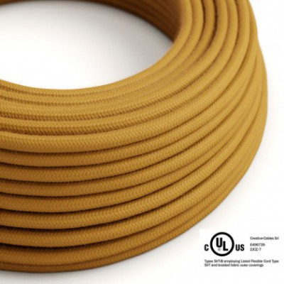 Round Electric Cable 150 ft (45,72 m) coil RC31 Golden Honey Cotton - UL listed