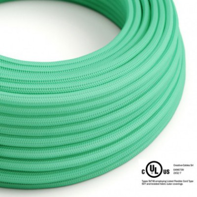 Round Electric Cable 150 ft (45,72 m) coil RH69 Opal Rayon - UL listed