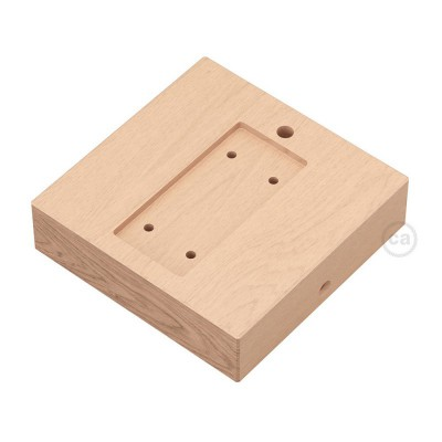 Square base for Archet(To) in wood