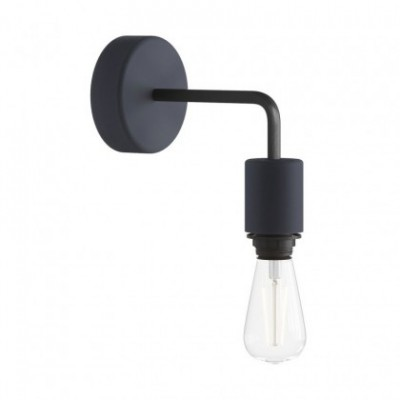 Fermaluce EIVA ELEGANT for lampshade with L-shaped extension, ceiling rose and lamp holder IP65 waterproof