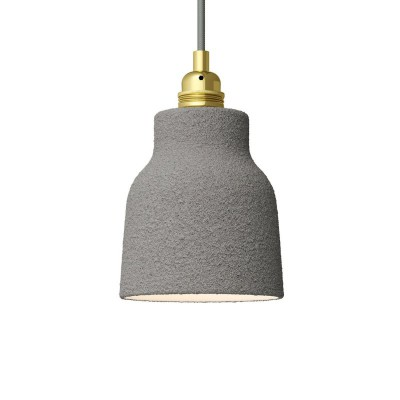 Ceramic lampshade Vase, Materia collection - Made in Italy