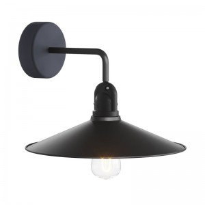 Fermaluce EIVA with L-shaped extension, Swing lampshade and lamp holder IP65 waterproof